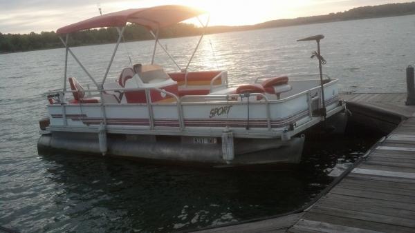 #65 Fishin' Fool Deluxe 2000 Crest 2023 Sport 4CL 20 ft. Pontoon Boat