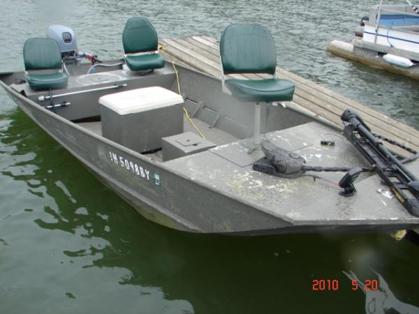 #24 Fishing Jon Boat 80