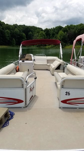 #26 Family Party Cruiser (new upholstery July 2017!)  2009 Palm Beach 240 Super LX SE 24 ft.