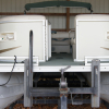 2003 Crest II LM Pontoon Boat 20' made in Owosso, Michigan USA,