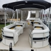 #78 Limo Tri-Toon Slow Tow & Slide 31 ft. 2007 Waterslide Pontoon Boat