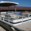 #40 Family Cruiser Economy 24 ft.  Riviera Cruiser Fun Deck 240 1989 pontoon boat