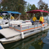 #48 Family Cruiser Economy 24 ft. Godfrey Sweetwater 2420 1986 pontoon boat