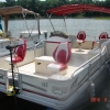 #15C Fishin' Fool Deluxe Plus GPS Sonar    2004 Crest 2023 Sport 4CL  20 ft. Pontoon Boat