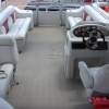 #28 Tri-Toon Family Cruiser 2009 Leisure Meridian 2423 Pontoon Boat