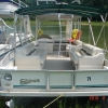 #71 Party Deck & Slide Barge 30 ft. 2001 Waterslide pontoon boat