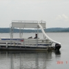 #31 Family Tri-toon Slow Tow & Slide 24 ft. 2006 Leisure 240 Meridian waterslide pontoon boat