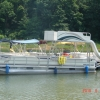 #70 Party Deck & Slide Barge 2001  30 ft. waterslide pontoon boat