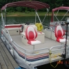 #64 Fishin' Fool Economy Plus 1989 Riviera Cruiser Angler 20 ft. Pontoon Boat