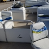 #75 Elite Tri-Toon Fish N Ski 25 ft. --reupholstered in 2017--2007 pontoon boat