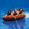 Frequent Flyer three person flat round tube 80""