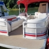 #50 Ski Cruiser 90 hp 22 ft. 2006 Beachcomber Tri-Toon Pontoon Boat