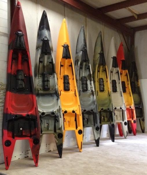 New 2018 Santa Cruz Raptor Kayak G1 Made In Bellingham Wa Made In