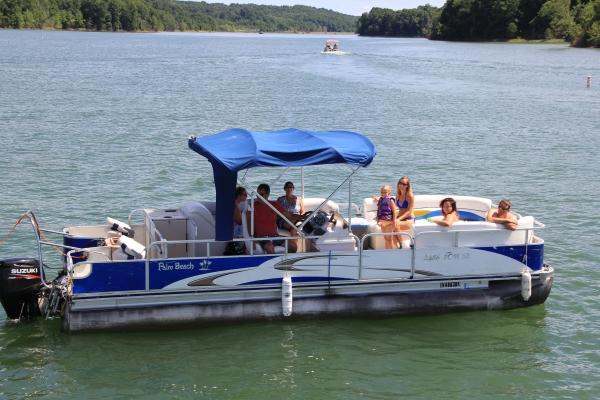 #76 Tri-Toon Fish N Ski --Sonar GPS ---2011 Palm Beach 2486 Family Castmaster SE
