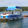 #80 Avalon Funship  27' Tri-toon Ski Waterslide Pontoon Boat