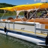 #73 Mellow Yellow...Crest 25 ft. 2525 Sport XLRE 2004 Pontoon Boat
