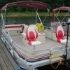 #64 Fishin' Fool Economy Plus 1989 Riviera Cruiser Angler 20 ft. Pontoon Boat
