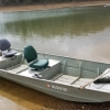 #21 Fishing Jon Boat 15 ft. up to 550 lbs. or 3 small people 9.9hp