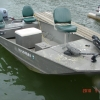 """#24 Fishing Jon Boat 80"""" wide 16 ft. up to 755 lbs or 6 small people 25hp"""